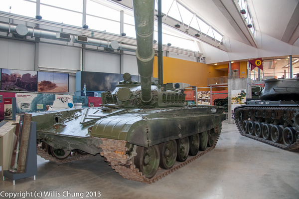 And in the other corner, the Soviet T-72-M1 by Willis...