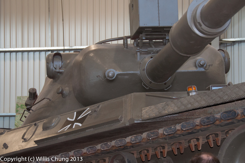 Can't forget the other contender of the time, the German Leopard