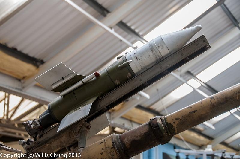 Details of the BMP-1 armament