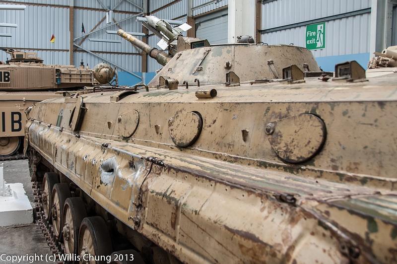 A BMP-1 Soviet AFV