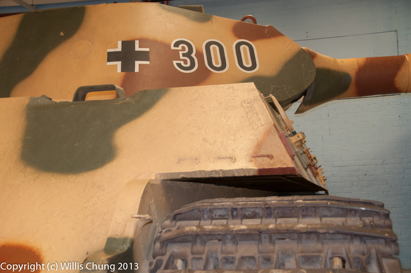 Tiger II (King Tiger) by Willis Chung