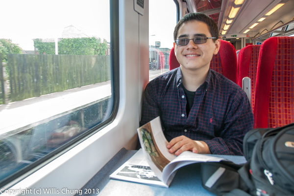 Back to London, reading about tanks! by Willis Chung