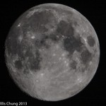 2013Sept Full Moon 500mm D7100