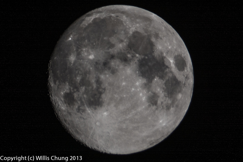 Cropped version, 500mm f/8 mirror, D7100, ISO 400