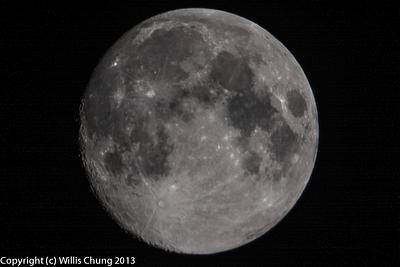 2013Sept Full Moon 500mm D7100