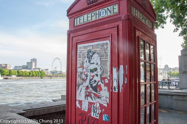 Must be in London! by Willis Chung