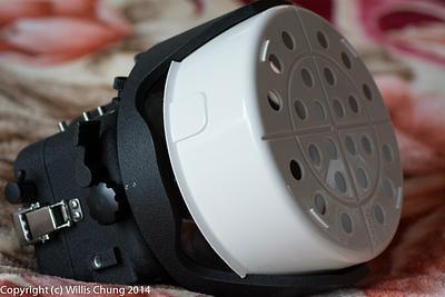2014Mar - Scuba Camera Dome Port Helmet