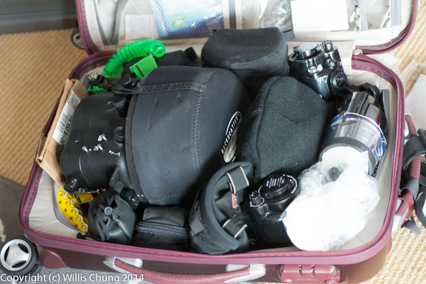 Everything fits in the case just like before. by Willis...