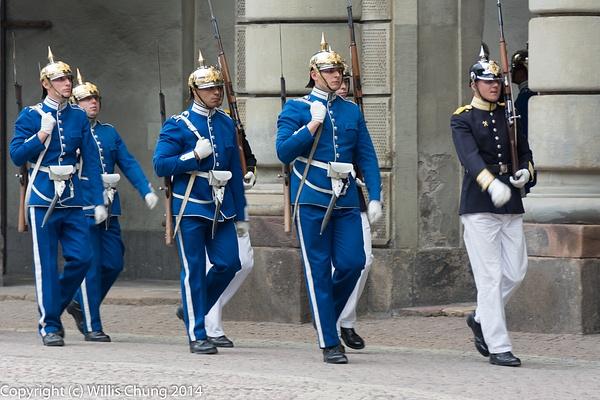 Morning Guard unit retiring by Willis Chung
