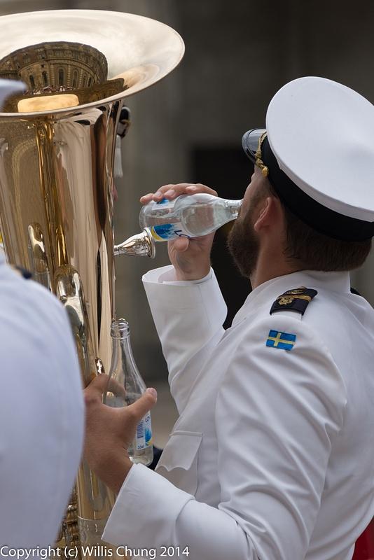 Big brass, more water