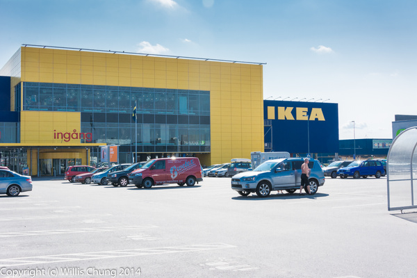 2014July Uppsala Ikea by Willis Chung