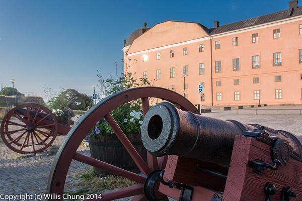 2014July Uppsala Slott (Castle) by Willis Chung