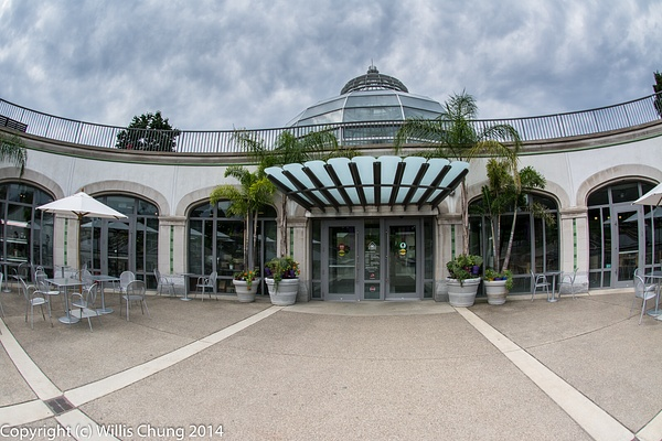 The entrance arena, perfect for a superwide shot by...