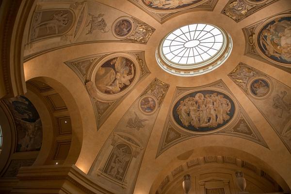 At the central rotunda by Willis Chung