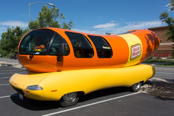 2015Jul WeinerMobile in Denver by Willis Chung