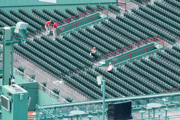 2015Jun Fenway Park from rooftop by Willis Chung