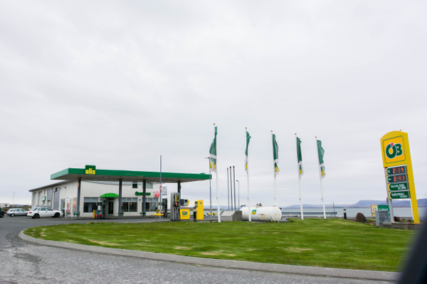 Convenient, clean, safe petrol stations. by Willis Chung