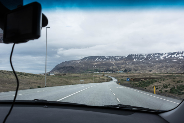 Setting out to do the Ring Road in one day, heading...