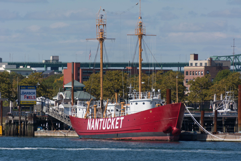Nantucket Shoals, Lightship 612.  It is available for charter