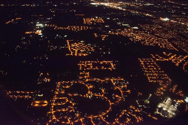 Some neighborhoods have mercury vapor lamps by Willis...