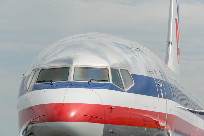 I don't get this view of airliners very often at airports in the US