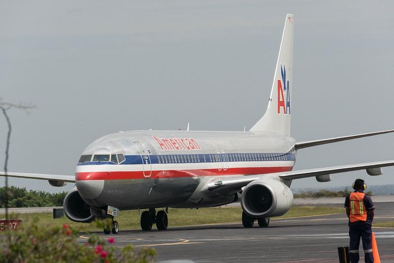 The third plane arrives