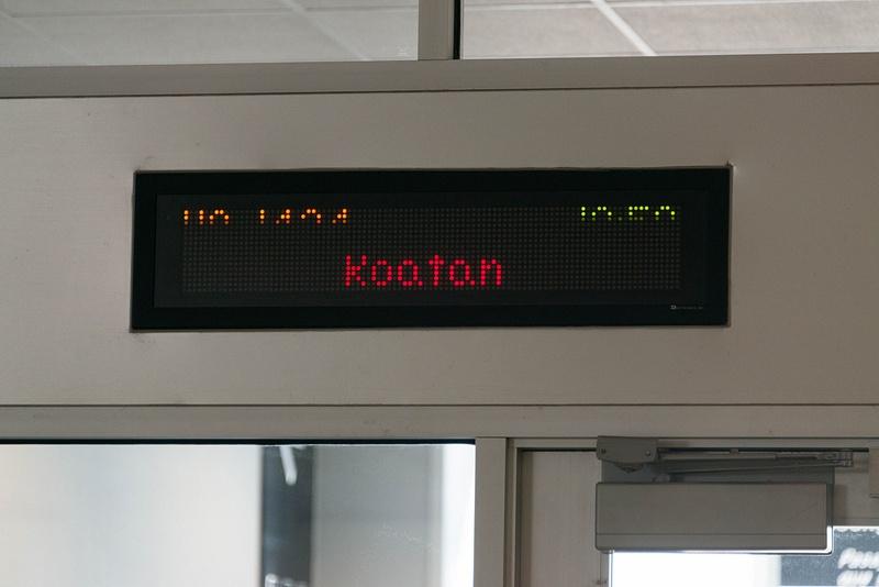 Boarding for Roatan