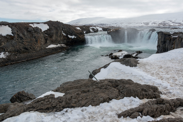 Godafoss, waterfall very close to Ring Road by Willis...