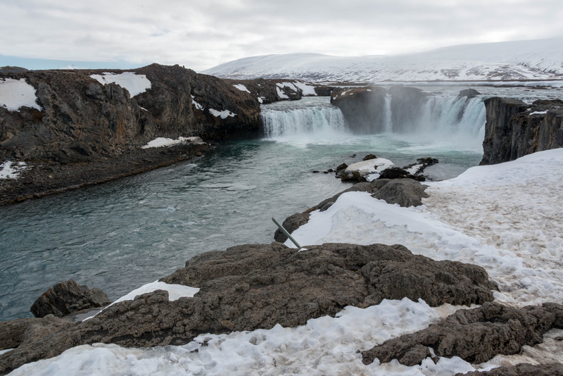 Godafoss, waterfall very close to Ring Road