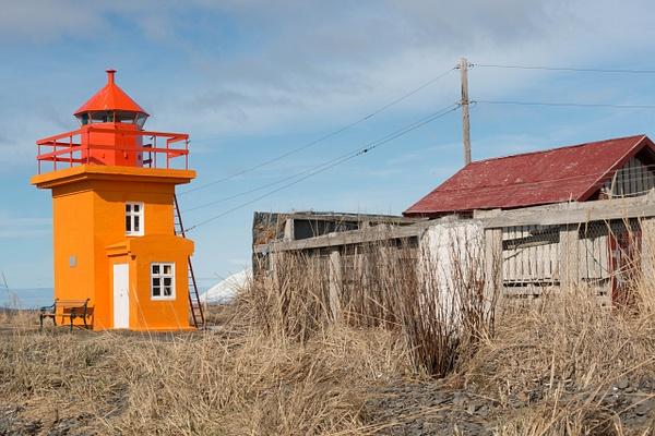 Svalbarðseyri lighthouse by Willis Chung