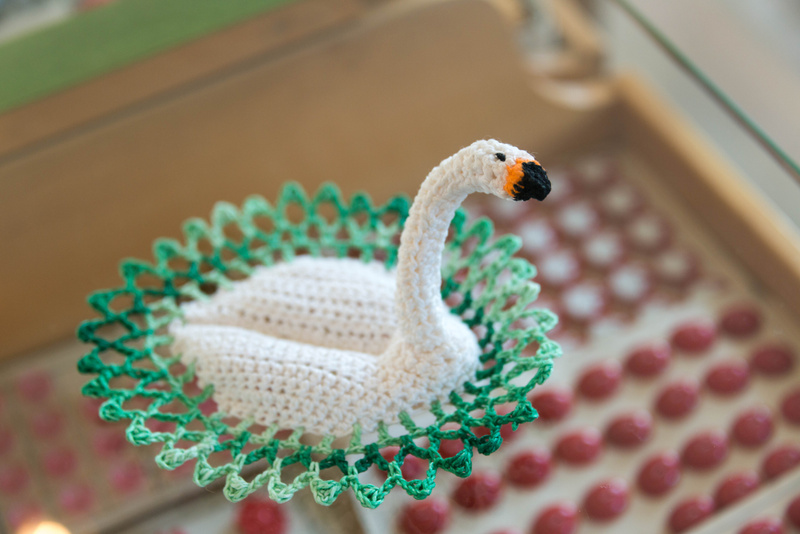 I have a weakness for birds, even if they are crochet birds!