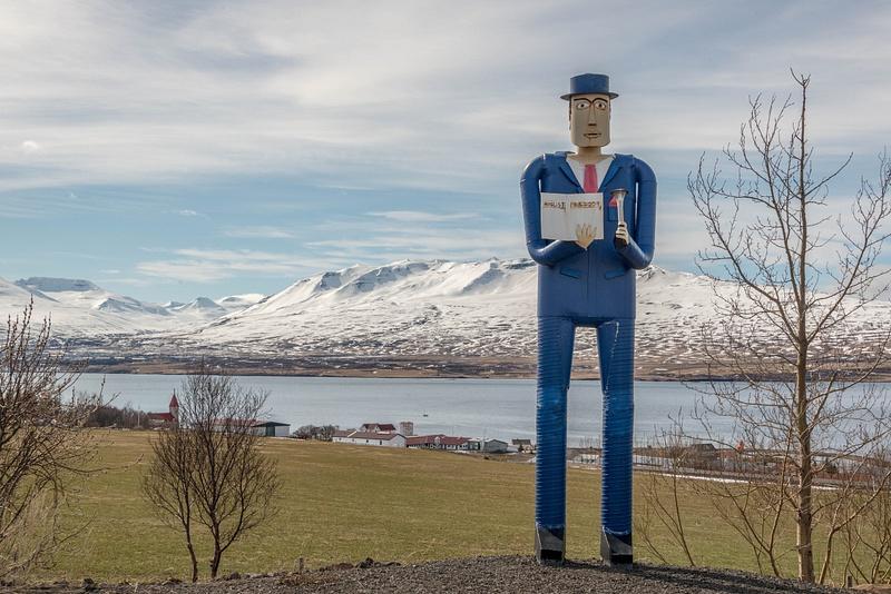 We stumble upon in Safnasafnið, the folk museum at Svalbarðseyri