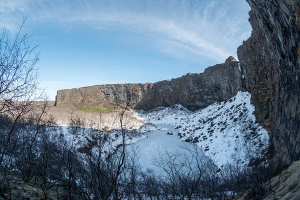 2016Apr Iceland Day 9: Ásbyrgi Canyon by Willis Chung