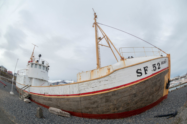 Fisheye fun with fishing boat by Willis Chung