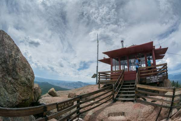 Devil's Head Fire Lookout, Pike National Forest, Colorado