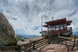 2016Jun Devil's Tower Lookout, Pike Natl Forest