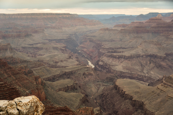 Colorado River, Grandview Point by Willis Chung