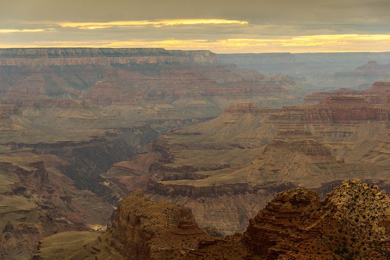 Desert View Watchtower at sunset