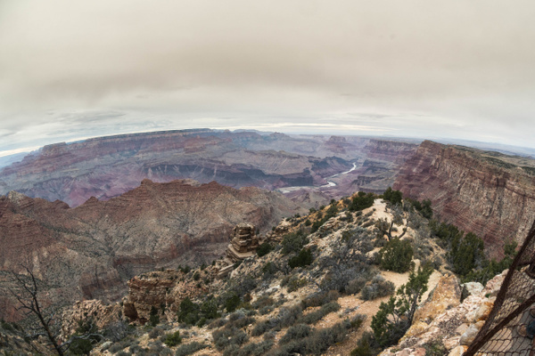 Desert View Watchtower, superwide! by Willis Chung