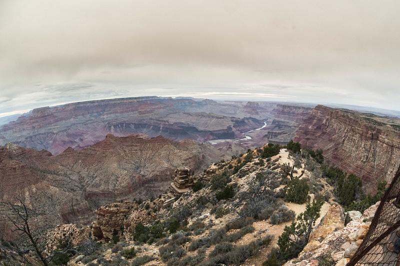 Desert View Watchtower, superwide!