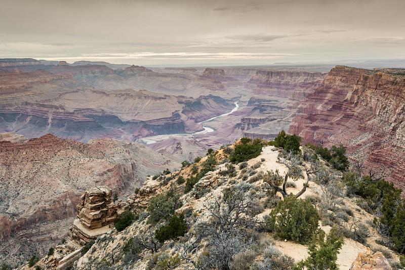 Desert View Watchtower view