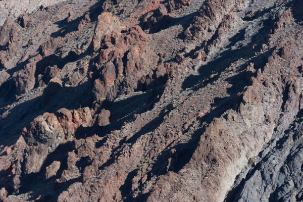 Looking down at some other ridges to the north. by...
