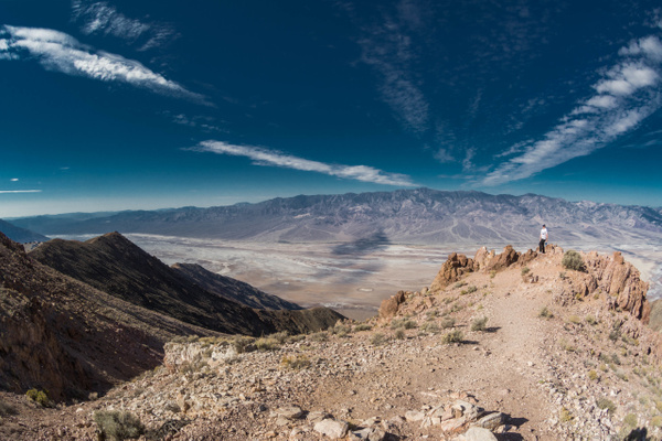 Clouds over Death Valley by Willis Chung