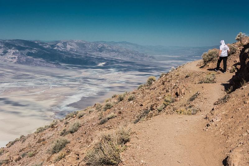 Hot, but not a difficult climb