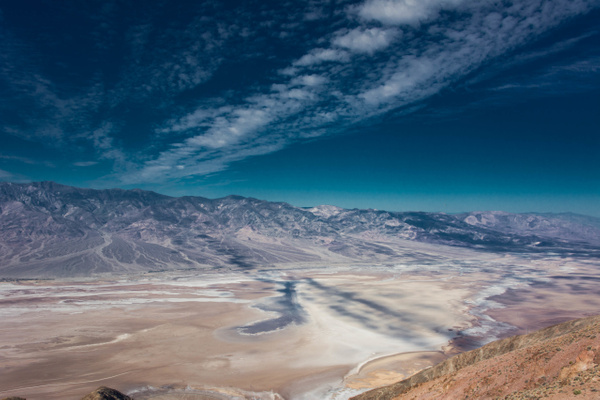 Looking further to the north across Death Valley by...