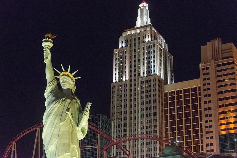 New York, Las Vegas!