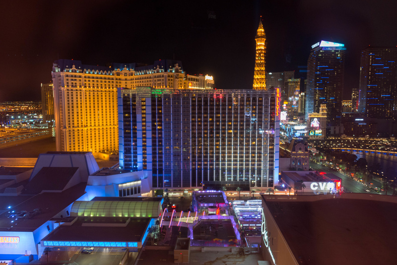 Our view to the south from the Flamingo