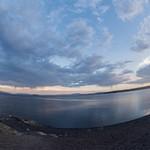 Day 6 PM Views of Lake Yellowstone at Lake Lodge