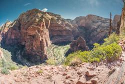 2017Aug Angels Landing Trail, Zion NP