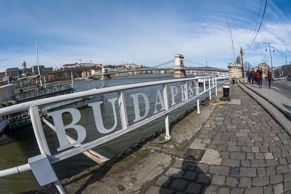 Day 3 Walk to Széchenyi Chain Bridge and Buda Castle by...